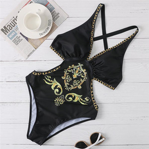 Beach One Piece Swimsuit Female Swimming Clothing Womens Summer Designer Bikini Sexy Backless Bathing Suits Lady