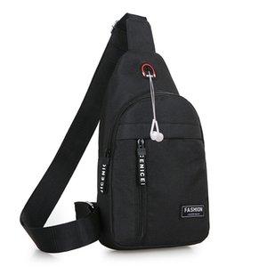 New Men Women Nylon Waist Packs Sling Bags Crossbody Outdoor Sport Shoulder Chest Daily Picnic Canvas Messenger Pack Bag Bolsa