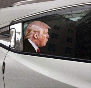 Donald Trump Decals Car Stickers Biden Funny Left Right Window Peel Off Waterproof PVC Car Window Decal Party Supplies CCA12500 60pcs