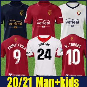 2020 camisa OSASUNA Special Edition homens crianças kit R.TORRES CHIMY AVILA camisa de futebol RUBEN GARCIA ESTUPINAN camisa Camiseta de OSASUNA 20/21