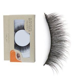 3D норка Ресницы пушистые хлестал Корейский норки Lashes Hand Made Full Strip Lashes глаз для женщин Lady Gift Удлинитель Cosmetics Tool