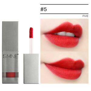Women Sexy Red Lipstick Matte Nude Lip Gloss Lip Glazed Makeup Moisturizing Waterproof Long-Lasting New Elegant Temperament