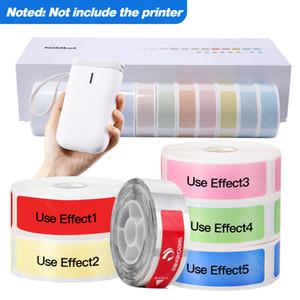 Mini impresora de etiquetas de papel etiqueta impermeable anti-aceite Príncipe Pure Color resistente a los arañazos D11 engomada de papel