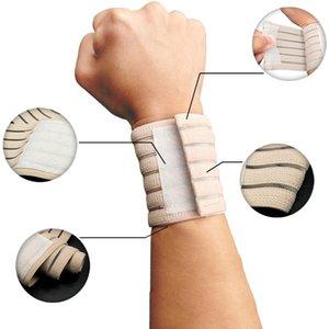 1 PC-Elastic Sport Verband Armband Hand Gym Unterstützung Handgelenk-Klammer-Wrap Tennis Cotton Weat Band Fitness Wrist Schutz