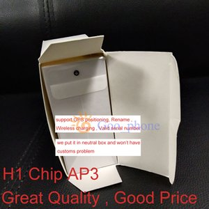 TWS Gen3 / AP3 Pro H1 écouteurs Chip GPS Renommer métal Charnière sans fil Bluetooth casque cas de charge numéro de série valide épluchage automatique