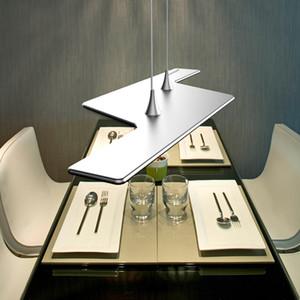 2020 New technology Modern Silver Gold LED Chandelier Light Fixture Aluminum Hanging Lamp LED Light for Dining Bedroom