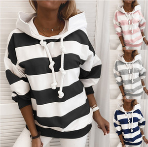 Womens Hoodies for Spring and Autumn Fashion American and European Style Sweatshirts with Hoodie Casual Streetwear Hoodie