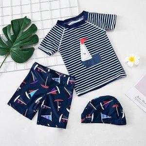 ET4Yn icDOT Sonnenschutz heiß schnelltrockn Badeanzüge warme Trunks mittlere und große Junge Kinder geteilt koreanische Baby und Kind Frühling Warm Schwimmen s