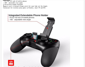 2 pcs Ipega PG-9076 Bluetooth Gamepad Game Pad Controller Mobile Trigger Joystick for Android Cell Smart Phone TV Box PC PS-3 VR Joypad