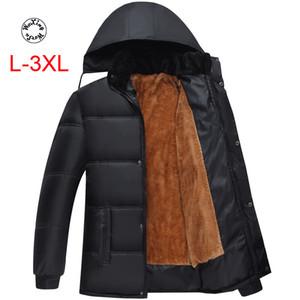 Woxingwosu homens e parkas encapuçados das mulheres, roupas de inverno, algodão casaco acolchoado, tamanho L 3XL