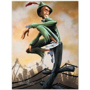 David Garibaldi Peter Pan Home Decor Handpainted &HD Print Oil Painting On Canvas Wall Art Canvas Pictures 200928