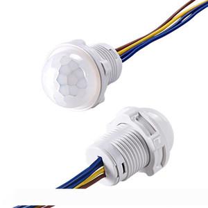 Mini Closet capteur PIR Détecteur Smart Switch 110V 220V LED infrarouge PIR détecteur de mouvement de détection automatique du capteur Interrupteur