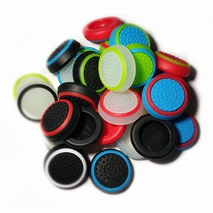 더블 컬러 엄지 스틱 그립 실리콘 캡 조이스틱 커버 케이스 실리콘 캡 PS4 X 박스 하나 PS3의 X 박스 360 컨트롤러