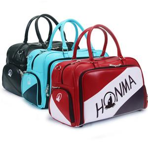 2020 Honma Golf Boston Bag Männer und Frauen Sporttasche High-End-PU-Leder-Golfbekleidungstasche