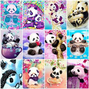 Evershine diamante Pintura 5D animal de DIY completa La plaza del diamante bordado Panda mosaico diamantes de imitación Decoración del hogar del cuadro