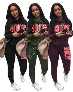 two piece outfits fall sweater women s two piece jogging suits s clothes 2020 tracksuit conjunto de 2 piezas de ropa de mujer D92303