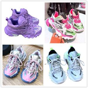 Dolce&Gabbana Dolce Gabbana Shoes delle donne Track 2 scarpe da tennis 19FW track2 pizzo bianco-up signora jogging scarpe da ginnastica Triple S escursionismo Chaussures 36-39