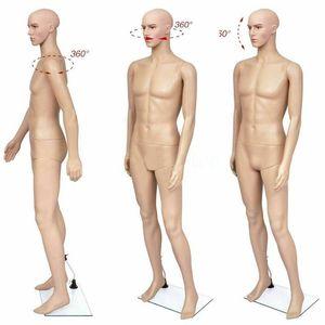 73 Pulgadas masculina del maniquí de cuerpo completo de la ventana de visualización de la cosmetología la forma del vestido de costura-maniquí para la ropa a medida Vestir Modelo W38112733