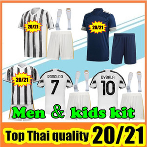 erkek ve çocuklar futbol formaları 20/21 futbol formaları çocuklar üniforma satış için 2020 2021 futbol formaları
