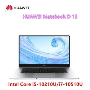 Original HUAWEI MateBook D 15 Laptop 15.6 inch Intel Core -10210U -10510U 8GB 16GB DDR4 512GB SSD MX250 Fingerprint ID