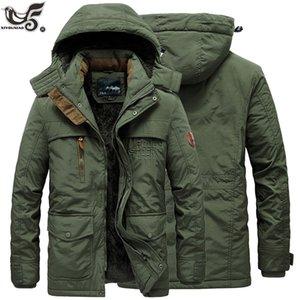 New Fur Collar Hooded Men Winter Jacket Warm Wool Liner Man Jackets and Coats outwear snow windbreaker Male Parka overcoats C0925