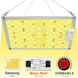 Full spectrum samsung quantum led grow light board led grow lamp with dimmer and meanwell driver