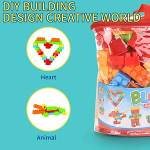 Tijolos interessantes de alta qualidade Muitas cores criativa Bloco Kid brinquedo de plástico Building Block Construir Toy Selling 2020
