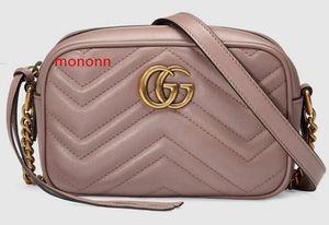 Marmont Matelass Mini Bag 448065 Mulheres Mostra Moda ombro sacos Totes Bolsas Top Corpo Cruz Messenger Bags