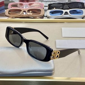 Luxury 0096 Sunglasses Fashion Women Brand Deisnger Popular Full Frame UV400 Lens Summer Style Big Square Frame Top Quality Come With Case