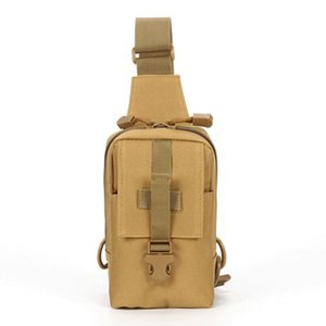 New Kind Tactical Hunting Nylon Single Shoulder Chest Bag Outdoor Sports Camping Backpack Travel Hiking Pack