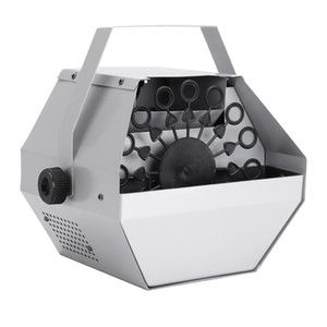 Silver Bubble Effec Gerador 30W Automático Mini Bubble Maker Machine Auto Blower para Casamento / Bar / Partido / Mostra de Estágio