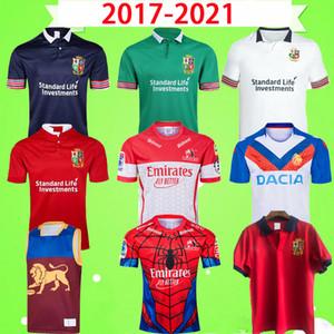 2017 2020 2021 Lions Rugby League Jersey Versão Ndigenous Nine Sistema Irlanda Inglaterra Retro Hero Clássico Vintage Souvenir Edition Camiseta