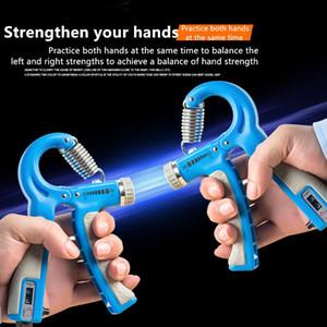 R-forme réglable Countable force de préhension à la main avec l'exercice Gripper contre Durable force de la main Exercise Fitness outil