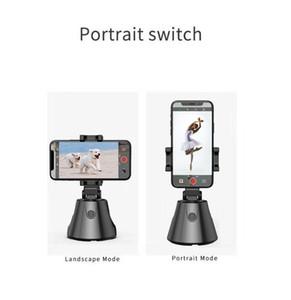 شحنة DHL مجانا لمدة 360 درجة دوران بطاريات تتبع الوجه الروبوت الذكية AI انحراف الشخصية 360 درجة أفقيا مصور المتابعة