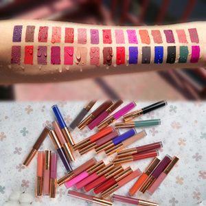 액체 립스틱 비 스틱 컵 립 색조 화장품을 지속 100PCS 로고 주문을 받아서 매트 립글로스 (30 개) 색상 자연 방수 긴