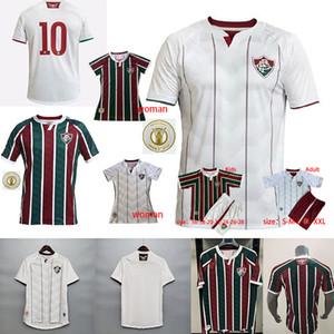 20 21 Fluminense Home Ph Ganso Soccer Jersey Silveira Marcos Paulo Nascimento Evanilson Fútbol 2020 FLUMINENSE FOTBOINTS
