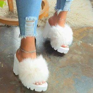 das mulheres Moda Feminina Plataformas Casual Shoes Sapato de Salto Grande Slippers Sandals único sapatos Party Dress Womens Wedding Red