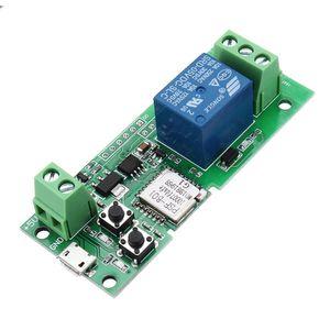 5V WiFi remoto para garagem Trabalho Controlador com Alexa IFTTT Google casa Wireless Switch Controle Remoto