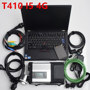2020.09v MB SD Star C5 SD Connect Compact 5 Star Diagnosis scanner for MB Cars and Trucks with SSD hdd in T410 cpu laptop