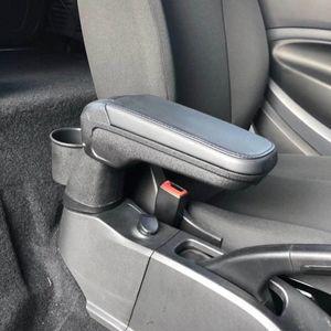 Leder Armlehne Box mit Becherhalter-Locker für neue Smart-453 Fortwo Forfour 2015 2018 Automotive Interior Zubehör U86g #