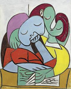 Pablo Picasso Mulher lendo Home Decor Artesanato / HD impressão pintura a óleo sobre tela Wall Art Canvas Pictures 7101