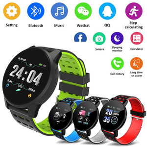 2020 Hot Selling 119plus Bluetooth Smart Watch GPS Waterproof SIM Camera Screen 3D Watch