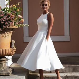 Lugentol partido atractiva vestido de las mujeres sin mangas de encaje sin espalda halter de cintura alta oscilación grande Una línea sólida largo vestido de moda de verano