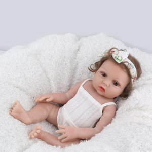 48cm Simulation Baby Doll with Clothes Kids Vinyl Reborn Lifelike Dolls Toy Maternity Prenatal supplies Children Birtthday Gifts