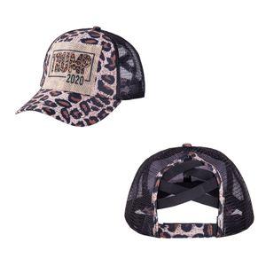 Trump 2020 Ponytail Baseball Cap 13 Colors Messy Bun Hats For Women Washed Cotton Snapback Caps Casual Summer Sun Visor Outdoor Hat lxj191