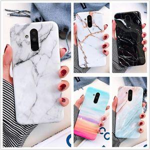 Cgjxsmarble Mobile Phone Case For Huawei P20 Lite Pro Nova 3i 3e Mate 20 Lite Iphone X Samsung S10 Soft Tpu Back Cover