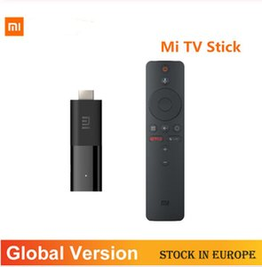 Global Version Xiaomi Mi TV Stick Android TV 9,0 2K HDR 1GBRAM Assistant 8GBROM Bluetooth4.2 Mini TV Dongle Wifi Google