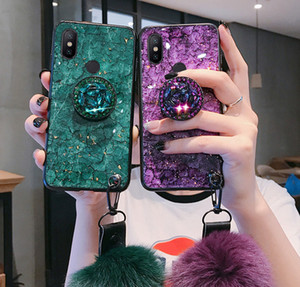 Luxury Glitter Case For Xiaomi Redmi Note 8 8T 4A 4X 5 5A 6 6A 6Pro 7 7A 8 8A K20 Pro Y1 Y2 Y3 S2 Go Silicon Marble Holder Cover