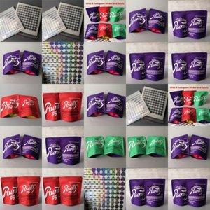 Rot Geruch Plätzchen Tasche Grün Runtz Proof Verpackung Mod Gramm weißen Beutel DHL-freies Ecig Sf Runtz Og 35g 35 Zippers Runtz xGeZC wphome