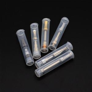 Vape Emballage de cartouche Preuve d'enfant en plastique transparent Tubes pour 510 Paquet cartouches PP emballage de vapeur Stock par US Overseas Entrepôt